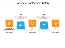 Business Development Salary Ppt Powerpoint Presentation Infographic Template Show Cpb