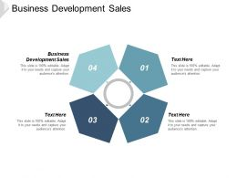 Business Development Sales Ppt Powerpoint Presentation Gallery Graphics Design Cpb
