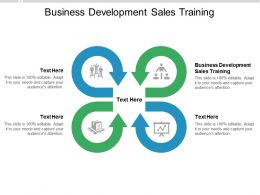 Business Development Sales Training Ppt Powerpoint Presentation Styles Mockup Cpb