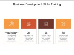 Business Development Skills Training Ppt Powerpoint Presentation File Infographic Template Cpb