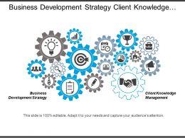 Business Development Strategy Client Knowledge Management Knowledge Management Cpb