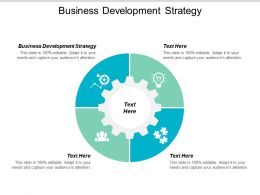 Business Development Strategy Ppt Powerpoint Presentation File Slide Cpb