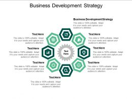 Business Development Strategy Ppt Powerpoint Presentation Infographics Pictures Cpb