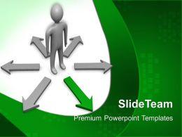 Business Development Strategy Template Choose Way Ppt Powerpoint