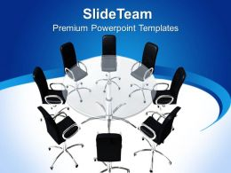 Business Development Strategy Template Conference Room Process Ppt Presentation Powerpoint