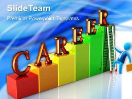 Business Development Strategy Template Ladders Chart Ppt Presentation Designs Powerpoint