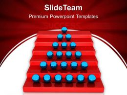 Business Development Strategy Template Success Ladder Leadership Teamwork Ppt Layouts Powerpoint