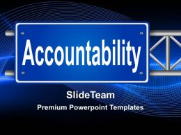 Business Development Strategy Template Templates Accountability Ppt Slides Powerpoint