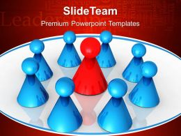 Business Development Strategy Template Templates Team Leadership Teamwork Ppt Theme Powerpoint