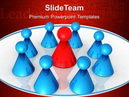 Business Development Strategy Template Templates Team Leadership Teamwork Ppt Theme Powerpoint