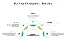 Business Development Template Ppt Powerpoint Presentation Infographics Cpb