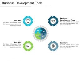 Business Development Tools Ppt Powerpoint Presentation Gallery Slide Cpb