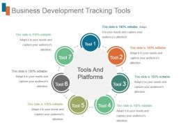 Business Development Tracking Tools Powerpoint Templates