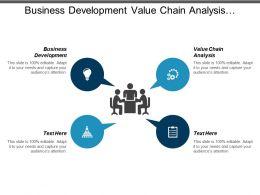 Business Development Value Chain Analysis Organizational Culture Resource Planning Cpb