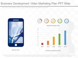 Business Development Video Marketing Plan Ppt Slide