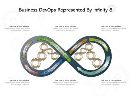 Business Devops Represented By Infinity 8