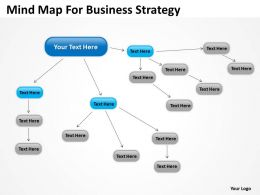 Business Diagram Examples Mind Map For Strategy Powerpoint Templates 0523