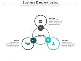 Business Directory Listing Ppt Powerpoint Presentation Pictures Background Cpb