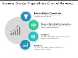 Business Disaster Preparedness Channel Marketing Communications Client Experience Management Cpb