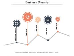 Business Diversity Ppt Powerpoint Presentation File Graphic Images Cpb