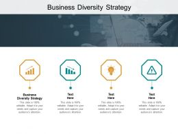 Business Diversity Strategy Ppt Powerpoint Presentation Icon Graphics Design Cpb
