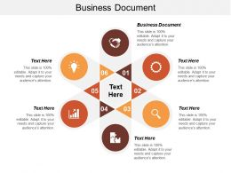 Business Document Ppt Powerpoint Presentation Inspiration Deck Cpb