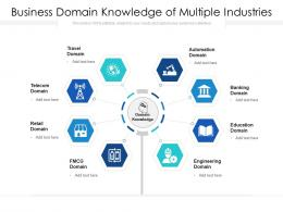 Business Domain Knowledge Of Multiple Industries