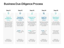 Business Due Diligence Process Terms Ppt Powerpoint Presentation File