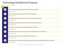 Business Due Diligence Technology Intellectual Property Ppt Powerpoint Design Templates