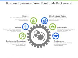 Business Dynamics Powerpoint Slide Background
