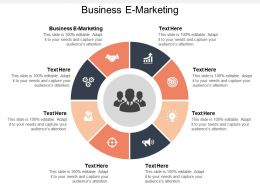 Business E Marketing Ppt Powerpoint Presentation File Slides Cpb