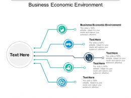 Business Economic Environment Ppt Powerpoint Presentation Inspiration Slides Cpb