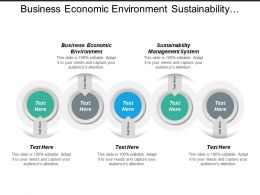 Business Economic Environment Sustainability Management System Venture Industry Cpb