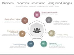 Business Economics Presentation Background Images