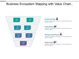 Business Ecosystem Mapping With Value Chain Consumers New Players