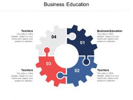 Business Education Ppt Powerpoint Presentation File Outline Cpb