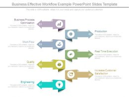 Business Effective Workflow Example Powerpoint Slides Template
