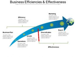 Business Efficiencies And Effectiveness