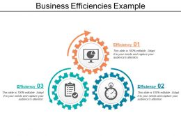 Business Efficiencies Example
