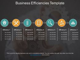 Business Efficiencies Template