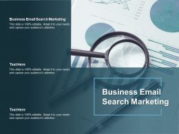 Business Email Search Marketing Ppt Powerpoint Presentation Outline Graphic Images Cpb