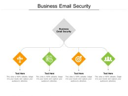 Business Email Security Ppt Powerpoint Presentation Portfolio Summary Cpb