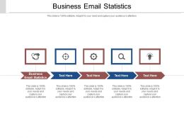 Business Email Statistics Ppt Powerpoint Presentation Gallery Slides Cpb