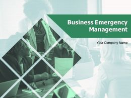 Business Emergency Management Powerpoint Presentation Slides