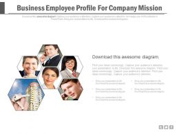 Business Employee Profile For Company Mission Powerpoint Slides