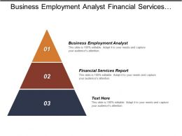 Business Employment Analyst Financial Services Report Liquidity Management Strategy Cpb
