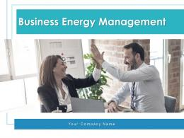 Business Energy Management Analyze Efficiency Investments Opportunities Strategy