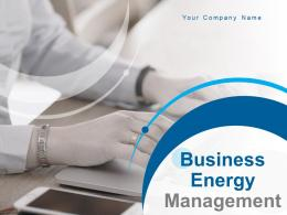 Business Energy Management Powerpoint Presentation Slides