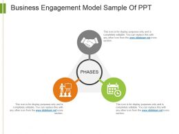 Business Engagement Model Sample Of Ppt