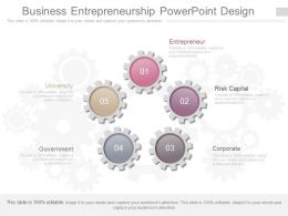 Business Entrepreneurship Powerpoint Design